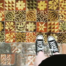 Beautiful things, floor Tiles