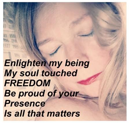 Enlighten my soul