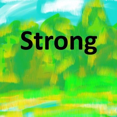 stronger than