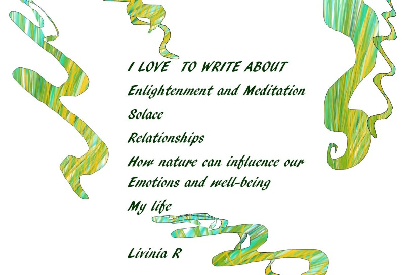 about me i love to write