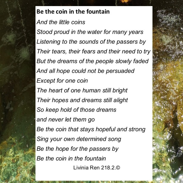 coin in the fountain