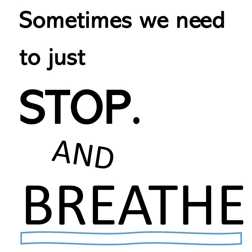 BREATHE AND STOP ADVERT