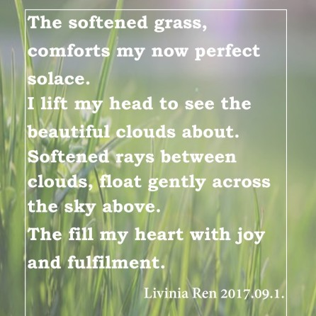 soft grass poem