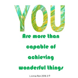 you are positive quote
